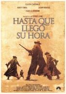 C'era una volta il West - Spanish DVD movie cover (xs thumbnail)