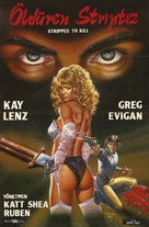Stripped to Kill - German DVD cover (xs thumbnail)