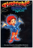 Pinocchio and the Emperor of the Night - German Movie Poster (xs thumbnail)