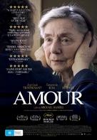 Amour - Australian Movie Poster (xs thumbnail)