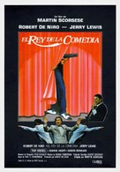 The King of Comedy - Spanish Movie Poster (xs thumbnail)