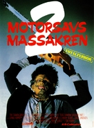 The Texas Chainsaw Massacre 2 - Danish Movie Poster (xs thumbnail)