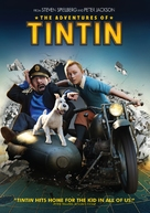 The Adventures of Tintin: The Secret of the Unicorn - DVD movie cover (xs thumbnail)