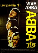 ABBA: The Movie - French Movie Poster (xs thumbnail)