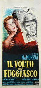 Face of a Fugitive - Italian Movie Poster (xs thumbnail)
