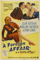 A Foreign Affair - Movie Poster (xs thumbnail)