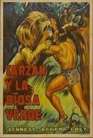 Tarzan and the Green Goddess - Argentinian Movie Poster (xs thumbnail)
