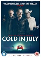 Cold in July - British DVD movie cover (xs thumbnail)