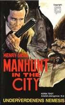 L'uomo della strada fa giustizia - Norwegian VHS cover (xs thumbnail)
