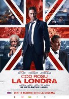 London Has Fallen - Romanian Movie Poster (xs thumbnail)