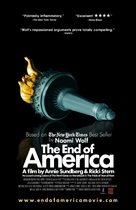 The End of America - Movie Poster (xs thumbnail)