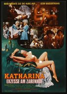 Katharina und ihre wilden Hengste, Teil 1 - Katharina, die nackte Zarin - German Movie Poster (xs thumbnail)