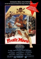 The Pirate Movie - German Movie Poster (xs thumbnail)