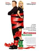 Four Christmases - Lithuanian Movie Poster (xs thumbnail)
