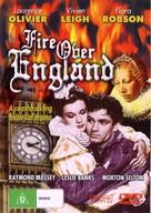 Fire Over England - Australian DVD movie cover (xs thumbnail)