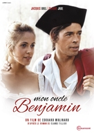 Mon oncle Benjamin - French DVD movie cover (xs thumbnail)