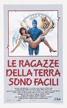 Earth Girls Are Easy - Italian Movie Poster (xs thumbnail)