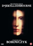 Docteur Jekyll et les femmes - British DVD cover (xs thumbnail)