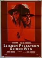 Il grande silenzio - German Movie Poster (xs thumbnail)
