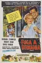 Escape to Burma - Argentinian Movie Poster (xs thumbnail)