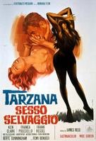 Tarzana, sesso selvaggio - Italian Movie Poster (xs thumbnail)