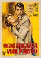 Every Girl Should Be Married - Italian Movie Poster (xs thumbnail)