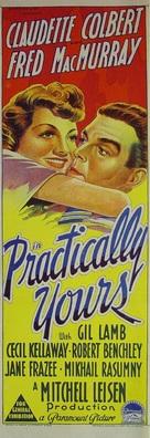 Practically Yours - Australian Movie Poster (xs thumbnail)
