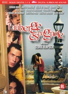L'auberge espagnole - Dutch DVD movie cover (xs thumbnail)