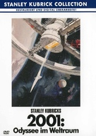 2001: A Space Odyssey - German DVD cover (xs thumbnail)