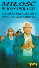 A Conspiracy of Love - Polish VHS movie cover (xs thumbnail)