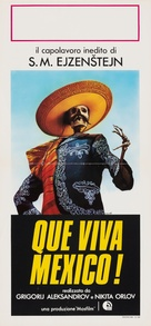 ¡Que viva Mexico! - Italian Movie Poster (xs thumbnail)