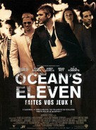 Ocean's Eleven - French Movie Poster (xs thumbnail)