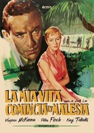 A Town Like Alice - Italian DVD movie cover (xs thumbnail)