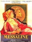 Messalina - French Movie Poster (xs thumbnail)