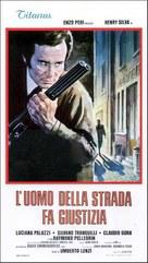 L'uomo della strada fa giustizia - Italian Movie Poster (xs thumbnail)