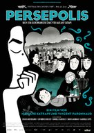 Persepolis - German poster (xs thumbnail)
