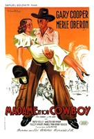 The Cowboy and the Lady - French Movie Poster (xs thumbnail)