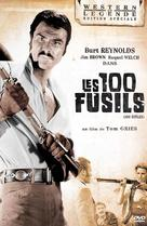 100 Rifles - French DVD movie cover (xs thumbnail)