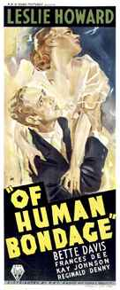Of Human Bondage - Australian Movie Poster (xs thumbnail)