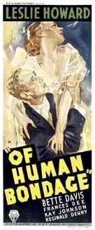 Of Human Bondage - Australian Movie Poster (xs thumbnail)