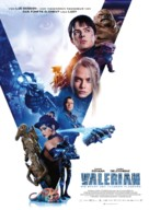 Valerian and the City of a Thousand Planets - Swiss Movie Poster (xs thumbnail)