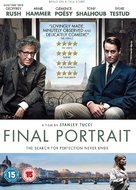Final Portrait - British DVD movie cover (xs thumbnail)