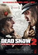 Død Snø 2 - French DVD cover (xs thumbnail)