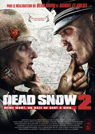 Død Snø 2 - French Movie Poster (xs thumbnail)
