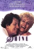 Shine - Canadian Movie Poster (xs thumbnail)