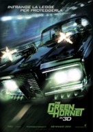 The Green Hornet - Italian Movie Poster (xs thumbnail)