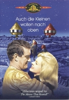 The Mouse on the Moon - German DVD movie cover (xs thumbnail)