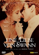 Un amour de Swann - German DVD cover (xs thumbnail)