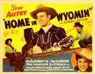 Home in Wyomin' - Movie Poster (xs thumbnail)
