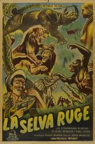 Jungle Stampede - Argentinian Movie Poster (xs thumbnail)